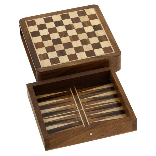 Backgammon-Set-Wood-Dice-Chess-Pieces-Board-Two-In-One-Game-0-1
