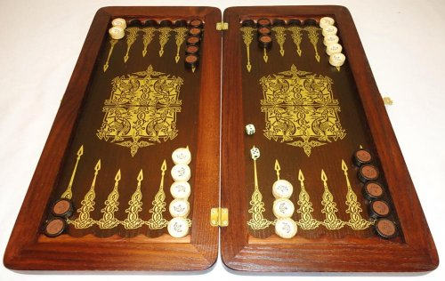 21-Golden-Eagle-Russian-Luxury-Backgammon-Set-Leather-Pieces-Tournament-Board-0-5