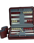 WE-Games-Burgundy-Magnetic-Backgammon-Set-with-Carrying-Strap-Travel-Size-0-0