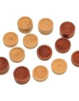 Wood-Backgammon-Chips-with-Cloth-Pouch-Brown-Natural-1-in-diameter-0-0