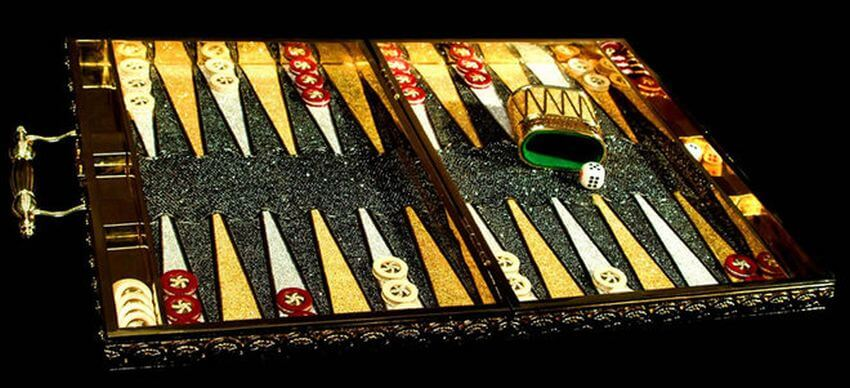 2 Most Expensive Backgammon Set | backgammon-boards com