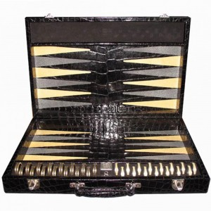 World's Most Expensive Backgammon Set by Geoffrey Parker