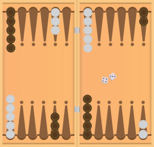 Backgammon Starting Position